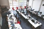 Open-plan offices are making workers less social